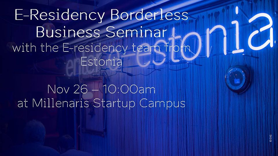 E-Residency Borderless Business Seminar